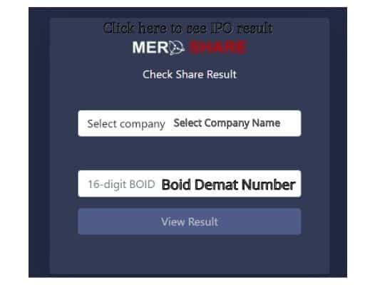 IPO Result of Terhathum Power Company